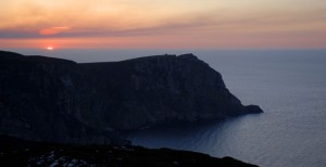 Horn Head at sun set