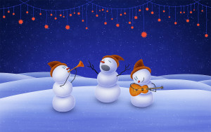 holidays-art-christmas-day-snowman-music-desktop-wallpaper